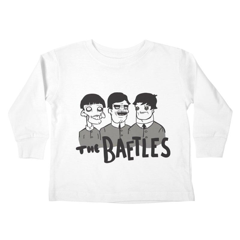 The Baetles: The Fabulous Four! Kids Toddler Longsleeve T-Shirt by foodstampdavis's Artist Shop