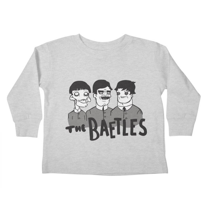 The Baetles: The Fabulous Four! Kids Toddler Longsleeve T-Shirt by foodstampdavis's Artist Shop