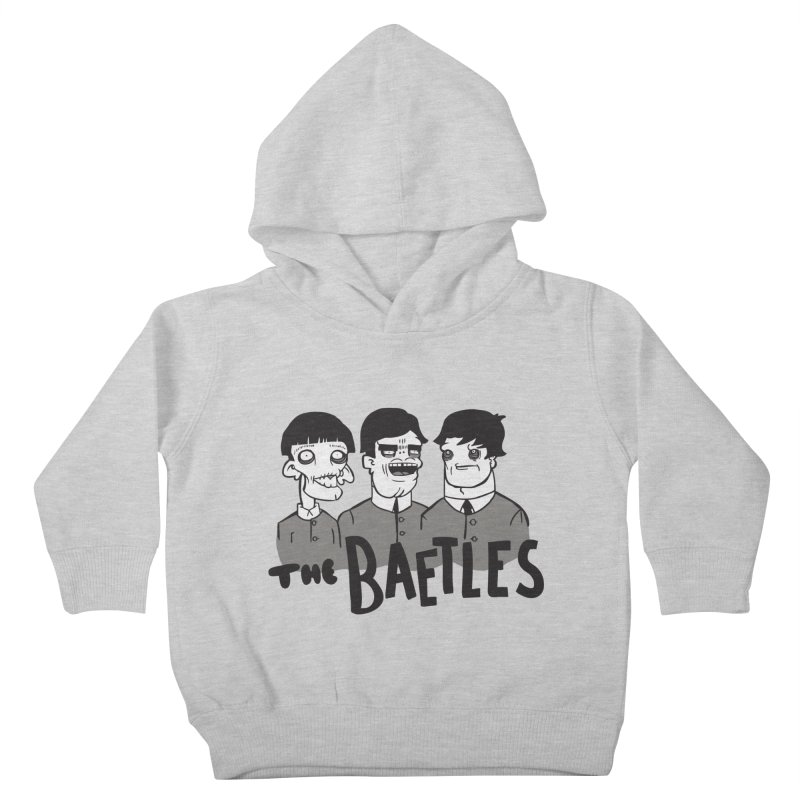 The Baetles: The Fabulous Four! Kids Toddler Pullover Hoody by foodstampdavis's Artist Shop