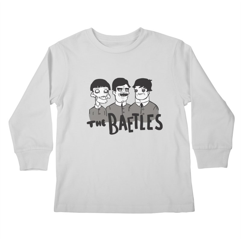 The Baetles: The Fabulous Four! Kids Longsleeve T-Shirt by foodstampdavis's Artist Shop