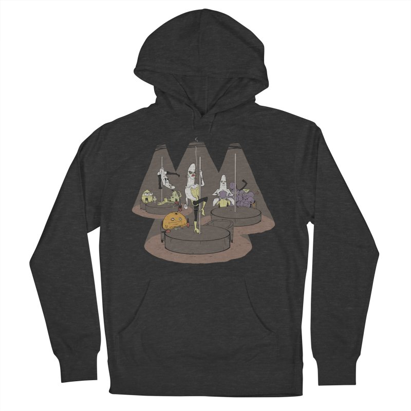 Dark Days at the Copabanana Men's French Terry Pullover Hoody by foodstampdavis's Artist Shop