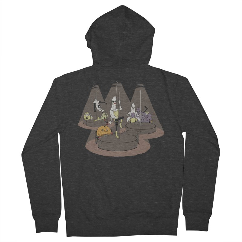 Dark Days at the Copabanana Men's French Terry Zip-Up Hoody by foodstampdavis's Artist Shop