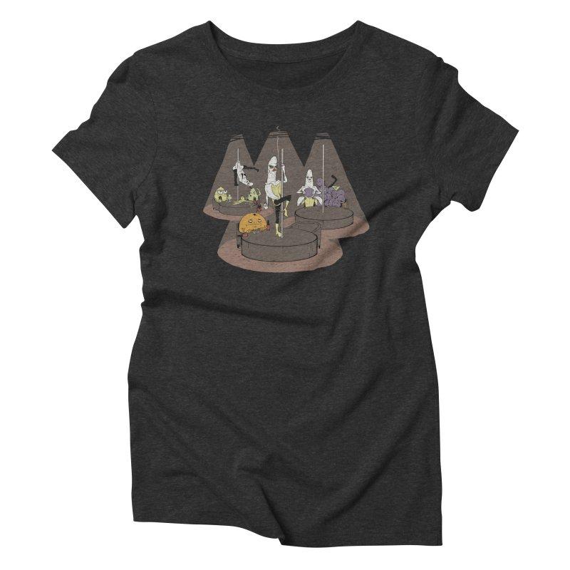 Dark Days at the Copabanana Women's Triblend T-shirt by foodstampdavis's Artist Shop
