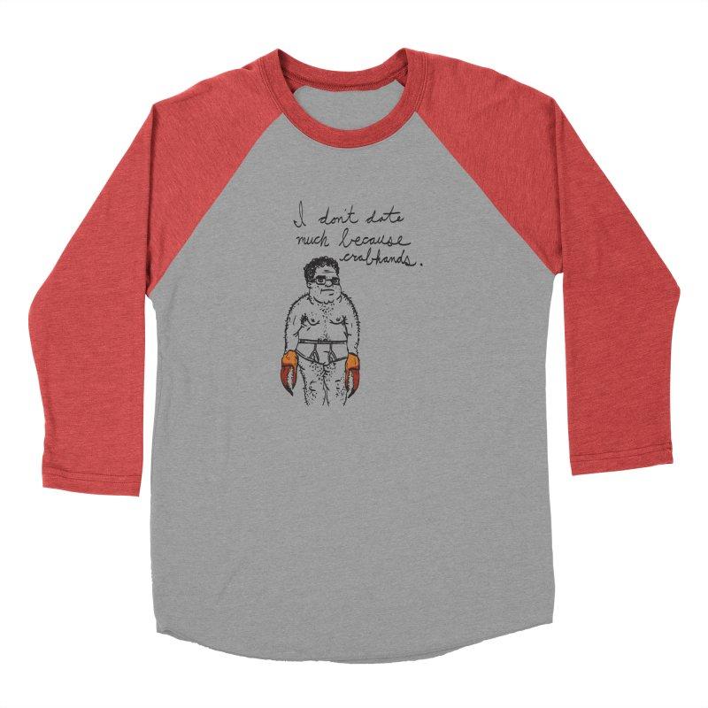 Crabhands Men's Longsleeve T-Shirt by foodstampdavis's Artist Shop