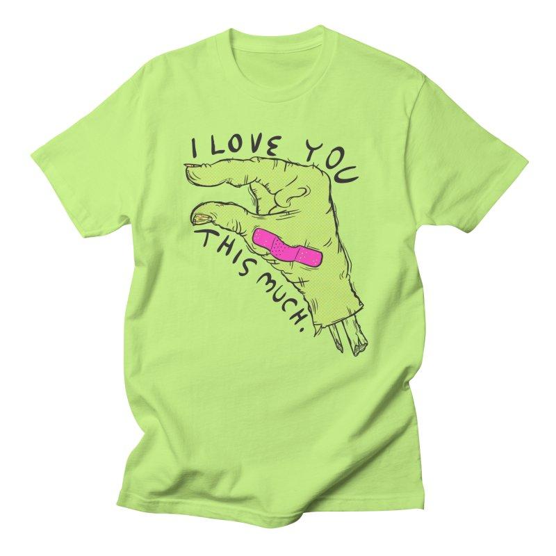 Not Much Men's Regular T-Shirt by foodstampdavis's Artist Shop