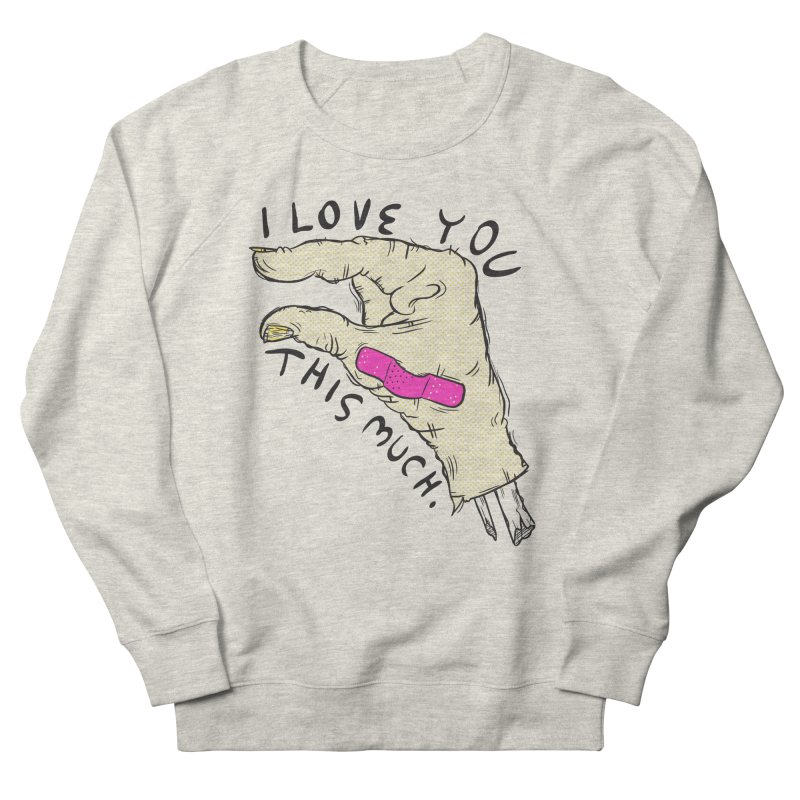 Not Much Women's French Terry Sweatshirt by foodstampdavis's Artist Shop