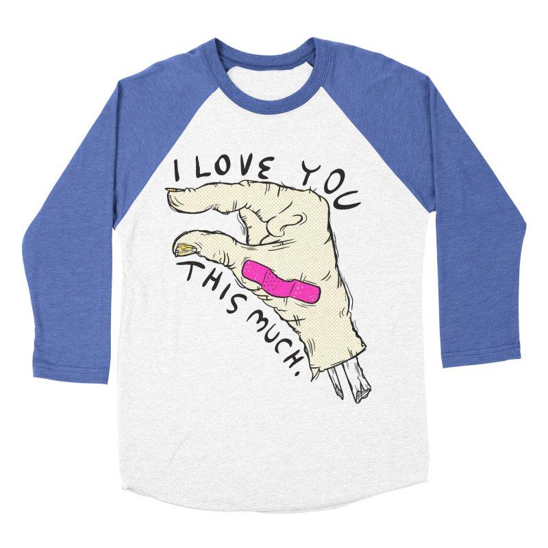 Not Much Men's Baseball Triblend Longsleeve T-Shirt by foodstampdavis's Artist Shop