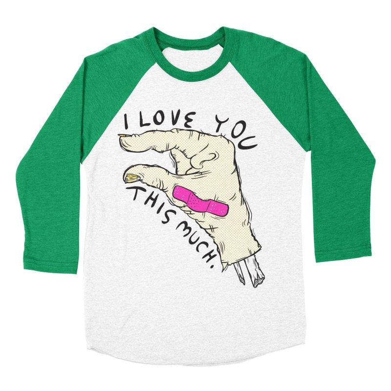 Not Much Men's Baseball Triblend T-Shirt by foodstampdavis's Artist Shop