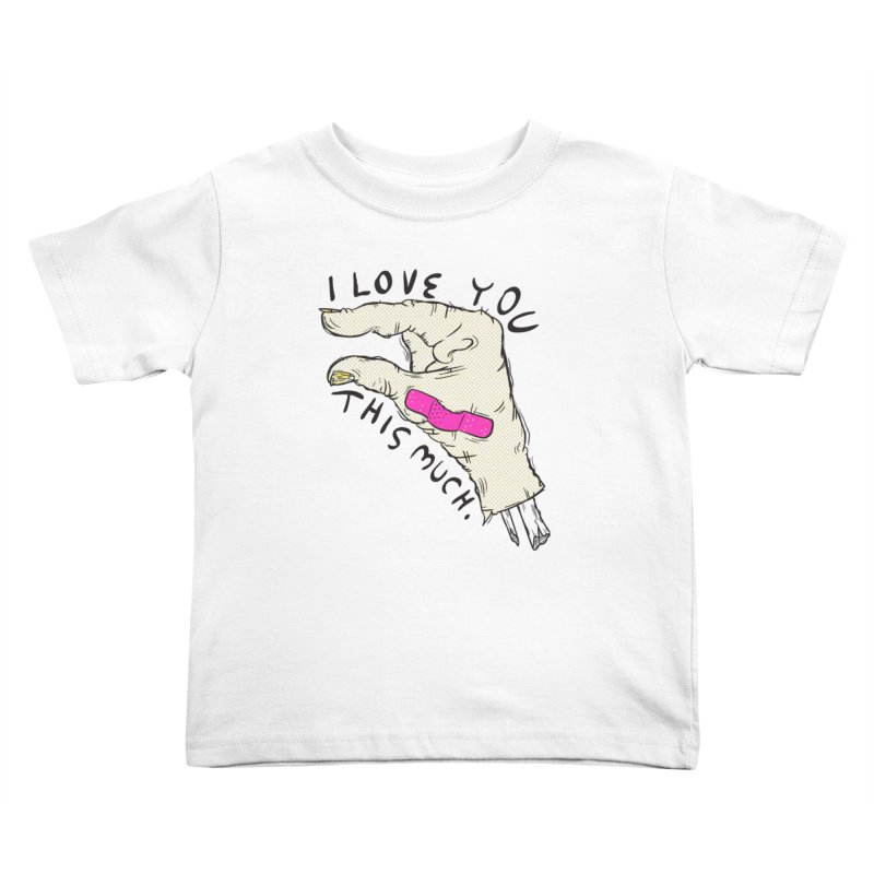 Not Much Kids Toddler T-Shirt by foodstampdavis's Artist Shop
