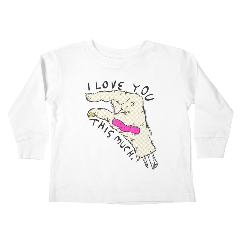 Not Much Kids Toddler Longsleeve T-Shirt by foodstampdavis's Artist Shop