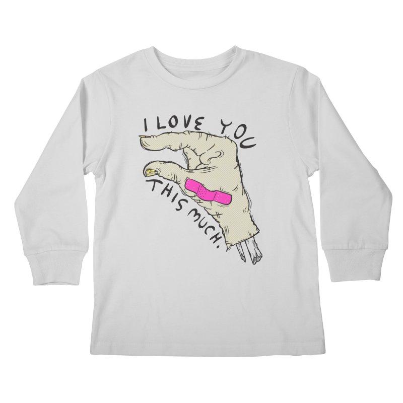 Not Much Kids Longsleeve T-Shirt by foodstampdavis's Artist Shop