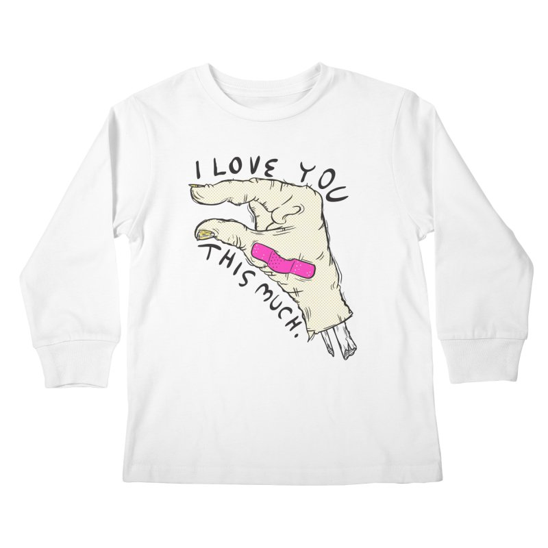 Not Much Kids Longsleeve T-Shirt by foodstampdavis's Artist Shop