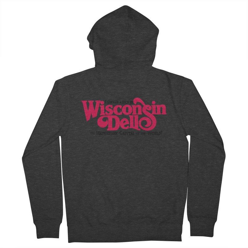 Wisconsin Dells: Water Park Capital of the World! Men's Zip-Up Hoody by foodstampdavis's Artist Shop