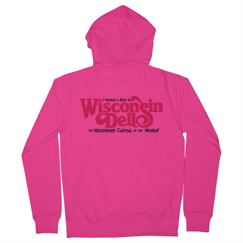 Wisconsin Dells: Water Park Capital of the World! Men's Zip-Up Hoody by foodstampdavis's Artist Shop