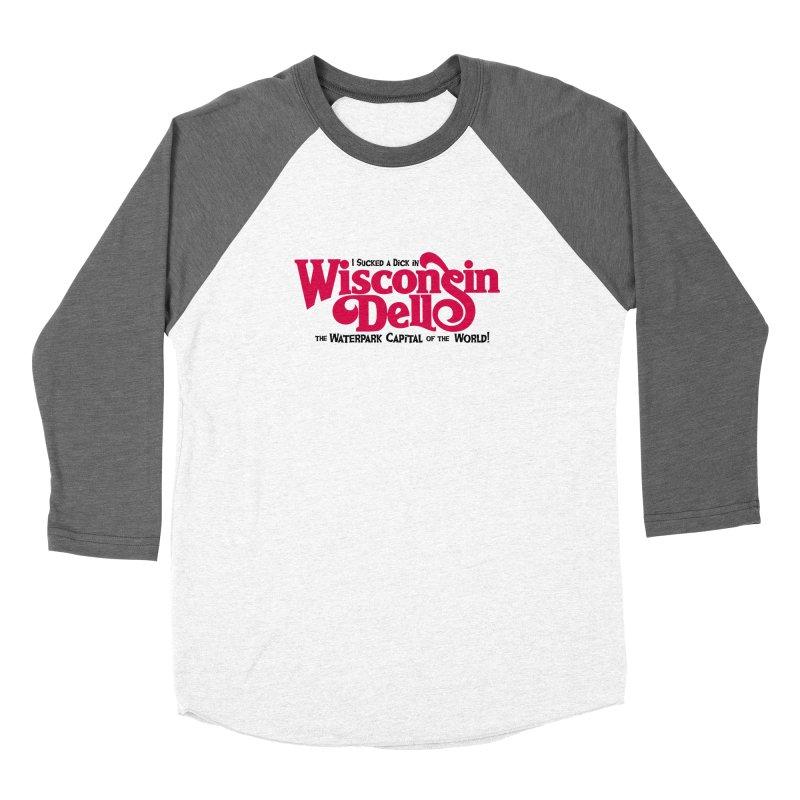 Wisconsin Dells: Water Park Capital of the World! Women's Longsleeve T-Shirt by foodstampdavis's Artist Shop