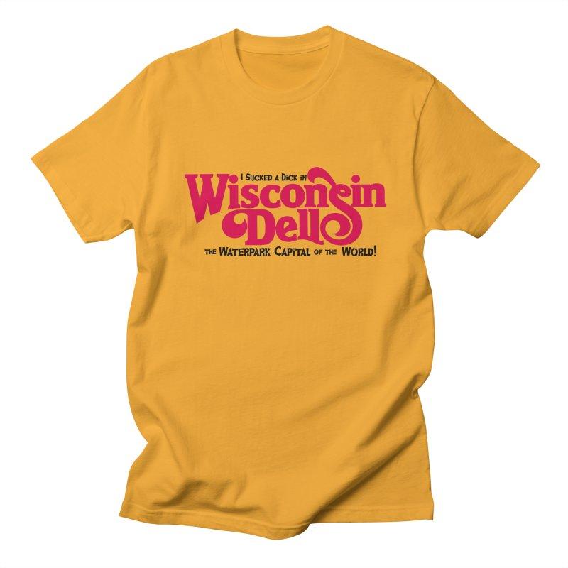 Wisconsin Dells: Water Park Capital of the World! Men's T-shirt by foodstampdavis's Artist Shop