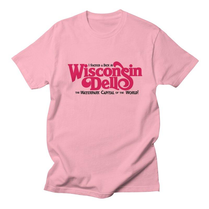 Wisconsin Dells: Water Park Capital of the World! Men's Regular T-Shirt by foodstampdavis's Artist Shop