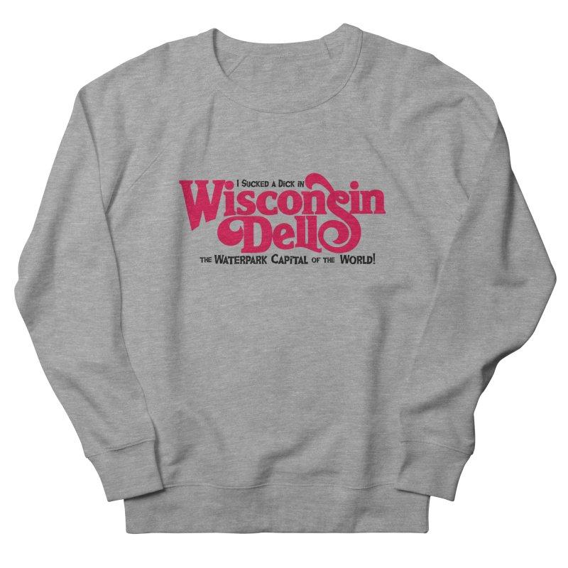 Wisconsin Dells: Water Park Capital of the World! Men's French Terry Sweatshirt by foodstampdavis's Artist Shop