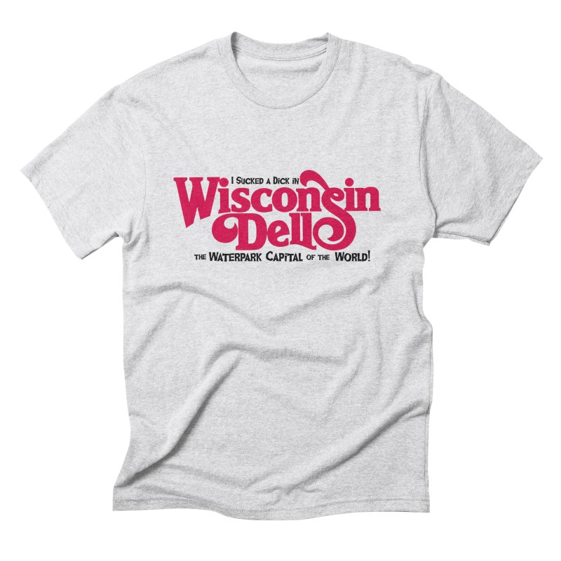 Wisconsin Dells: Water Park Capital of the World! Men's Triblend T-Shirt by foodstampdavis's Artist Shop