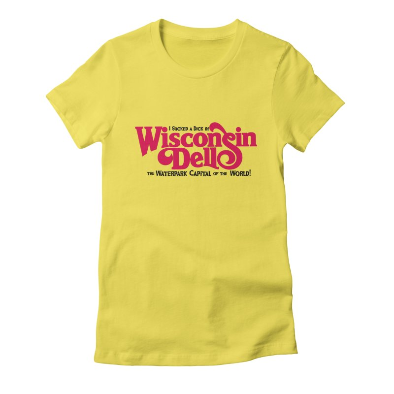 Wisconsin Dells: Water Park Capital of the World! Women's French Terry Zip-Up Hoody by foodstampdavis's Artist Shop