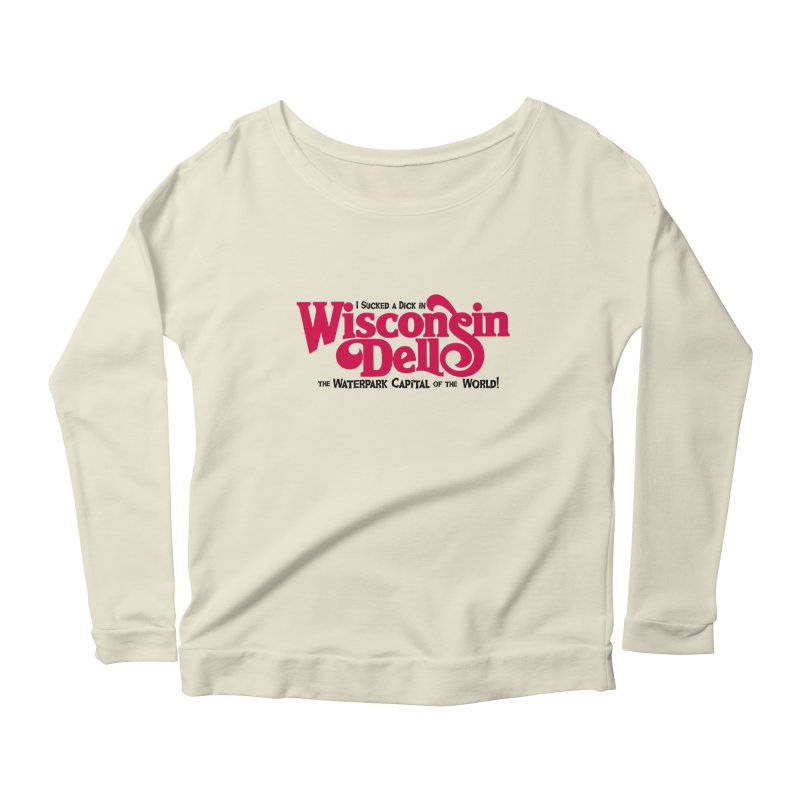 Wisconsin Dells: Water Park Capital of the World! Women's Longsleeve Scoopneck  by foodstampdavis's Artist Shop
