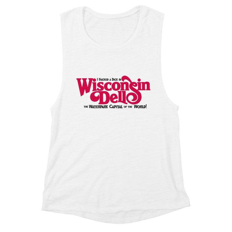 Wisconsin Dells: Water Park Capital of the World! Women's Muscle Tank by foodstampdavis's Artist Shop