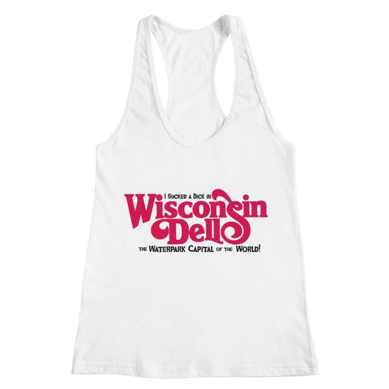 Wisconsin Dells: Water Park Capital of the World! Women's Racerback Tank by foodstampdavis's Artist Shop