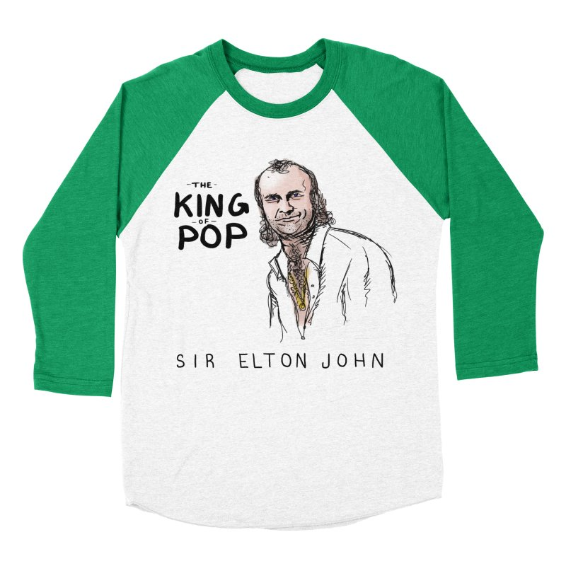 King of Pop Men's Longsleeve T-Shirt by foodstampdavis's Artist Shop