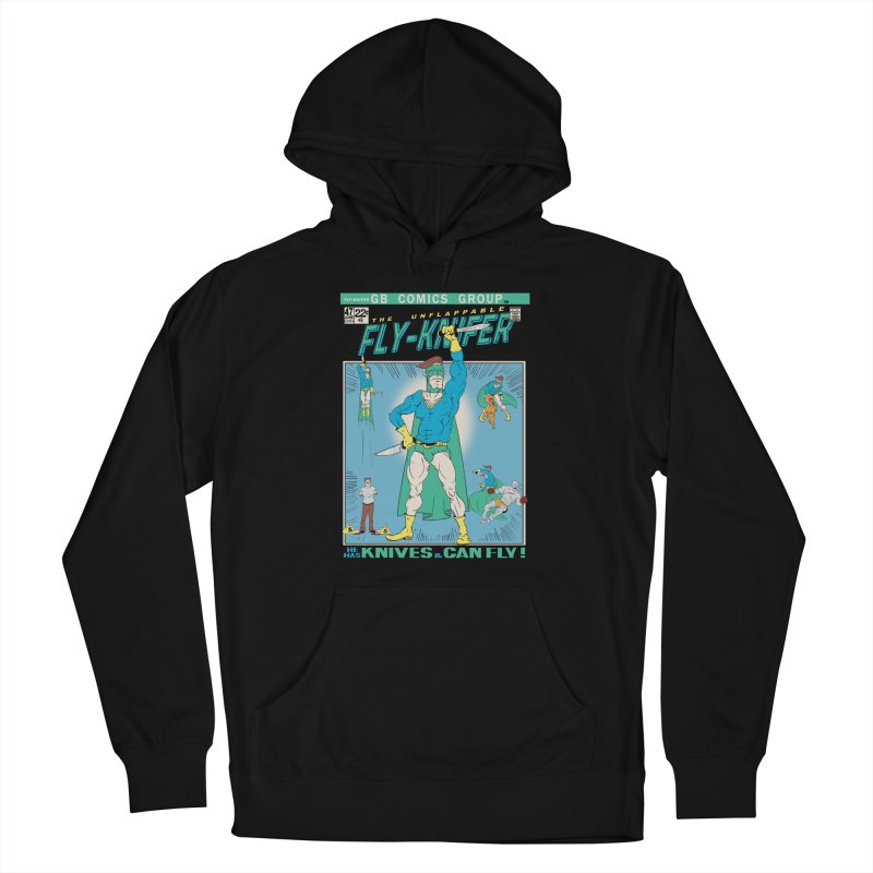 The Unflappable Fly-Knifer Women's Pullover Hoody by foodstampdavis's Artist Shop