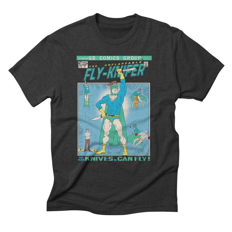 The Unflappable Fly-Knifer Men's Triblend T-Shirt by foodstampdavis's Artist Shop