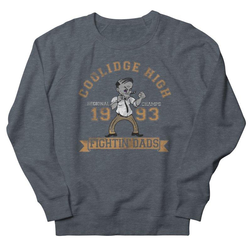 Fightin' Dads - for darker shirts Men's French Terry Sweatshirt by foodstampdavis's Artist Shop