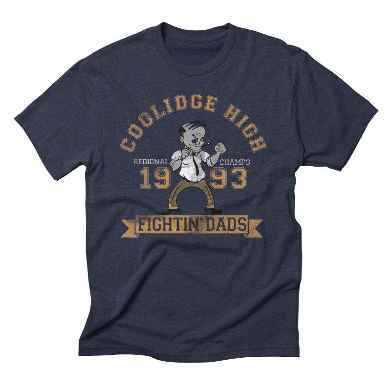 Fightin' Dads - for darker shirts Men's Triblend T-Shirt by foodstampdavis's Artist Shop