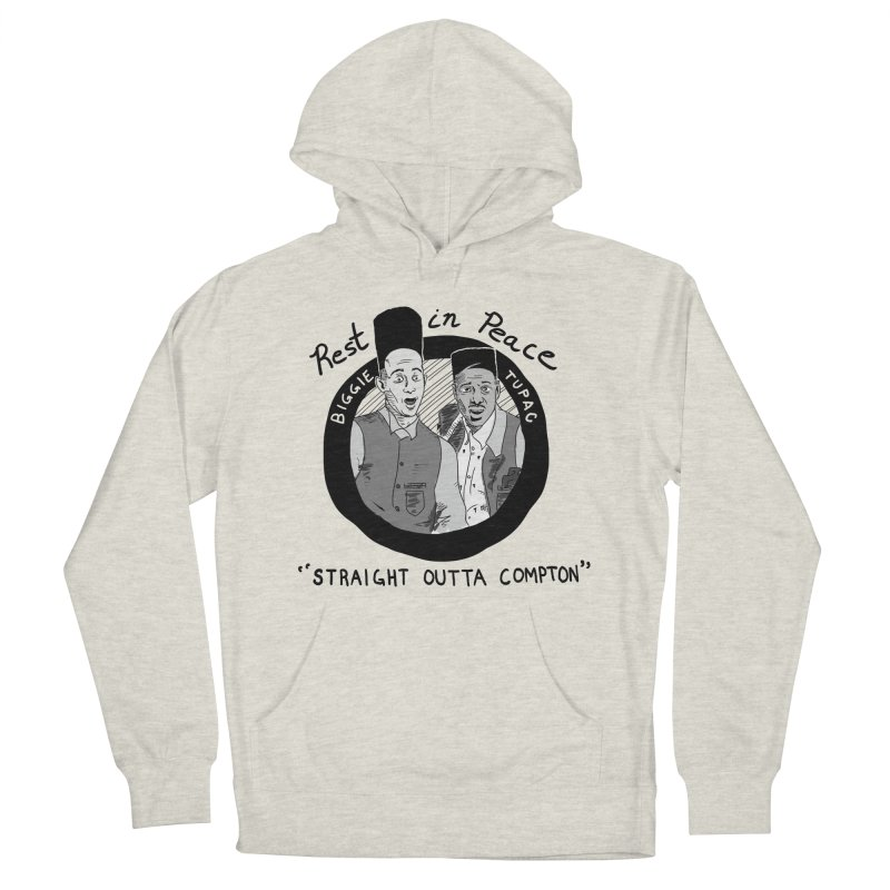 En Double You Ay Men's French Terry Pullover Hoody by foodstampdavis's Artist Shop