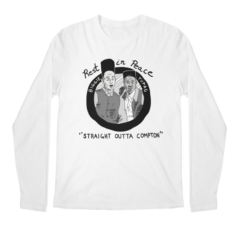 En Double You Ay Men's Longsleeve T-Shirt by foodstampdavis's Artist Shop