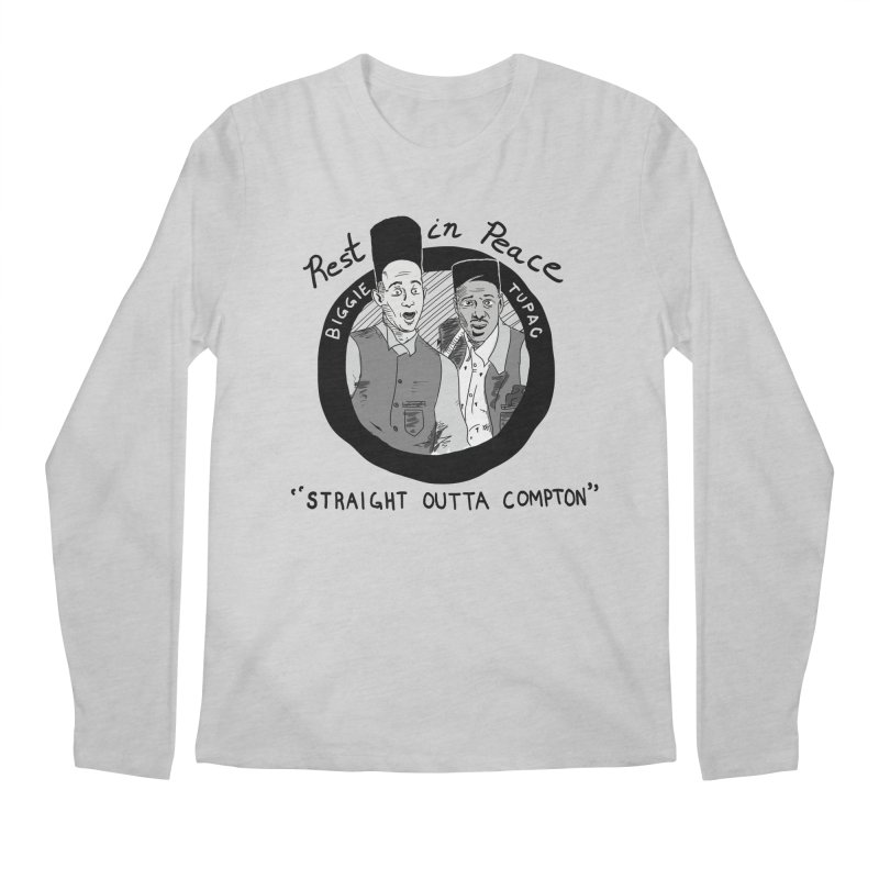 En Double You Ay Men's Regular Longsleeve T-Shirt by foodstampdavis's Artist Shop
