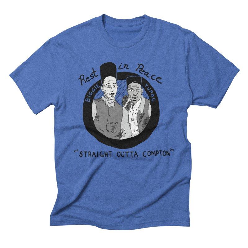 En Double You Ay Men's Triblend T-shirt by foodstampdavis's Artist Shop