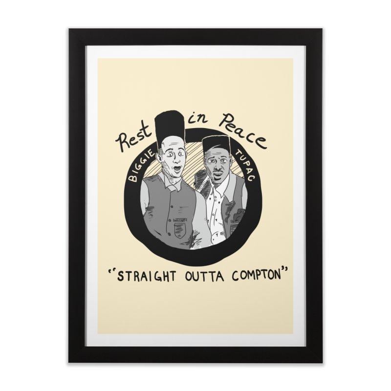 En Double You Ay Home Framed Fine Art Print by foodstampdavis's Artist Shop