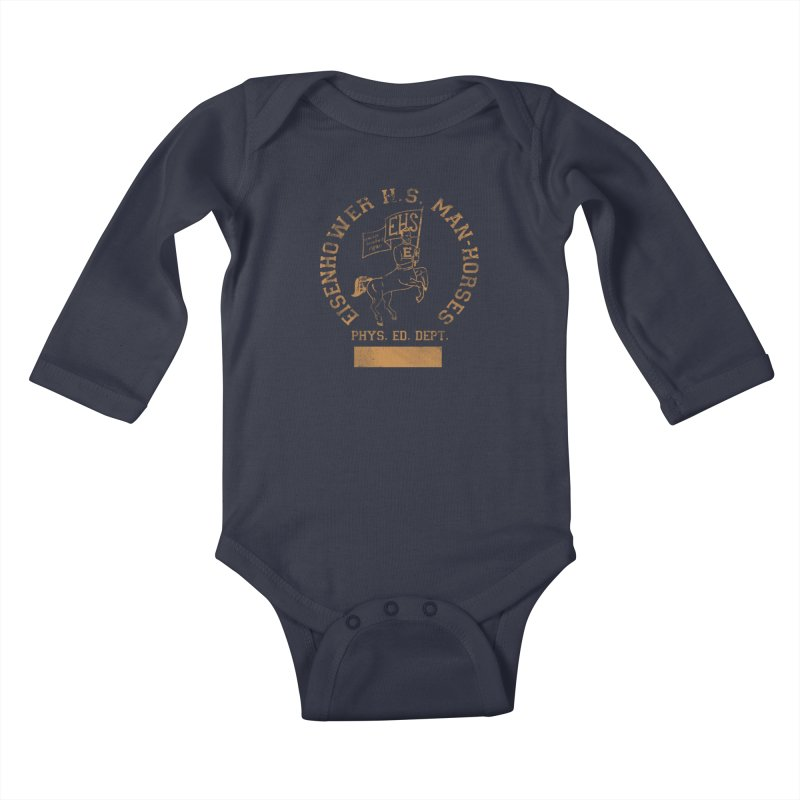 Property of EHS Phys Ed Kids Baby Longsleeve Bodysuit by foodstampdavis's Artist Shop
