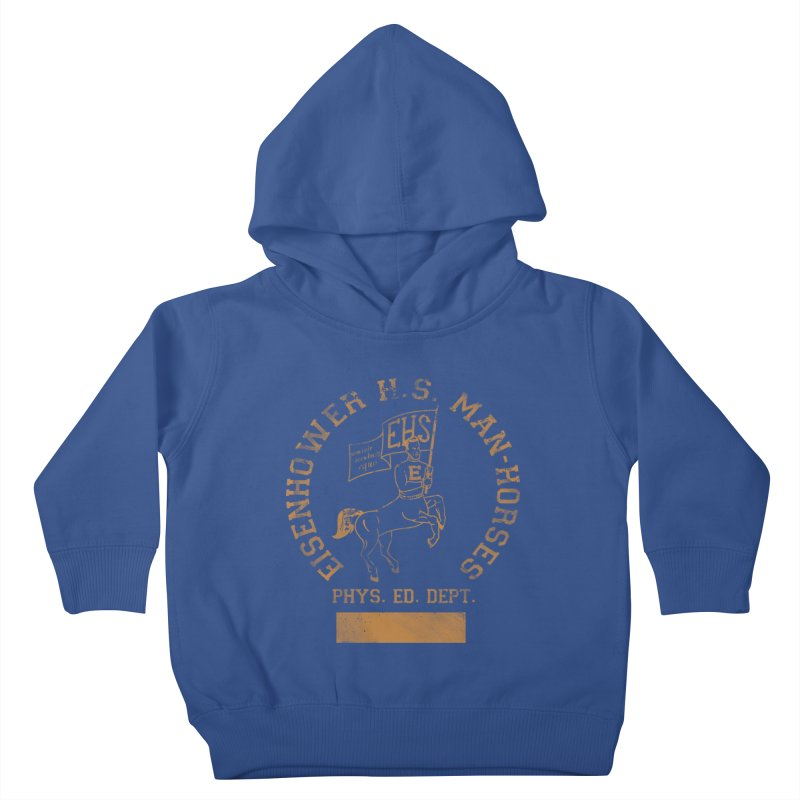 Property of EHS Phys Ed Kids Toddler Pullover Hoody by foodstampdavis's Artist Shop
