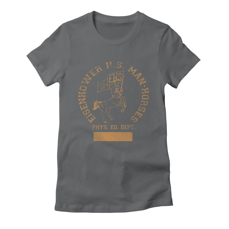 Property of EHS Phys Ed Women's Fitted T-Shirt by foodstampdavis's Artist Shop