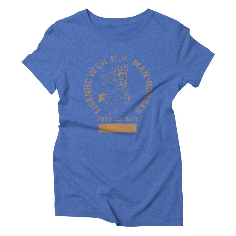Property of EHS Phys Ed Women's Triblend T-Shirt by foodstampdavis's Artist Shop