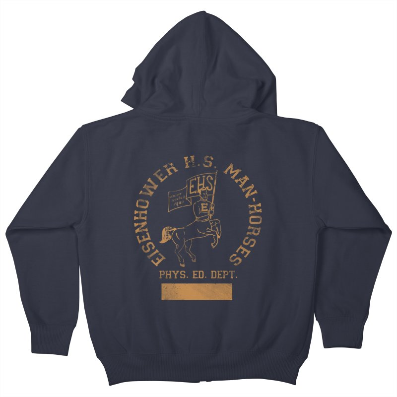 Property of EHS Phys Ed Kids Zip-Up Hoody by foodstampdavis's Artist Shop