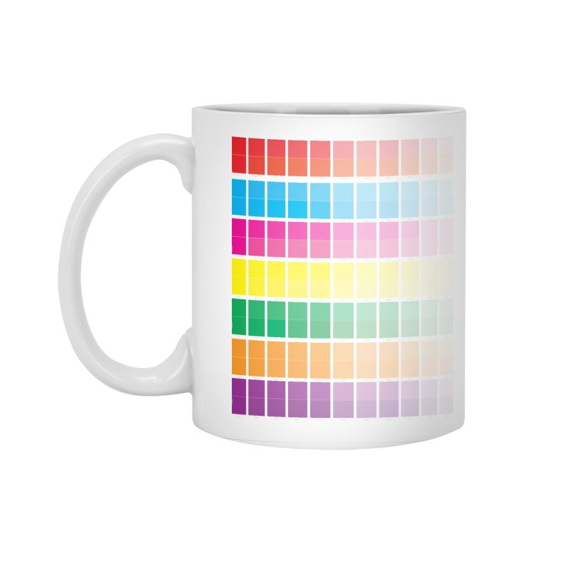 Test Pattern Accessories Standard Mug by Feed me tacos!