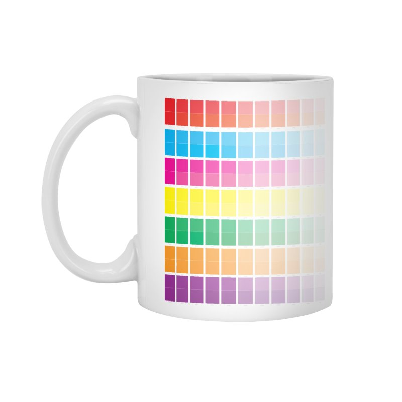 Test Pattern Accessories Mug by Feed me tacos!