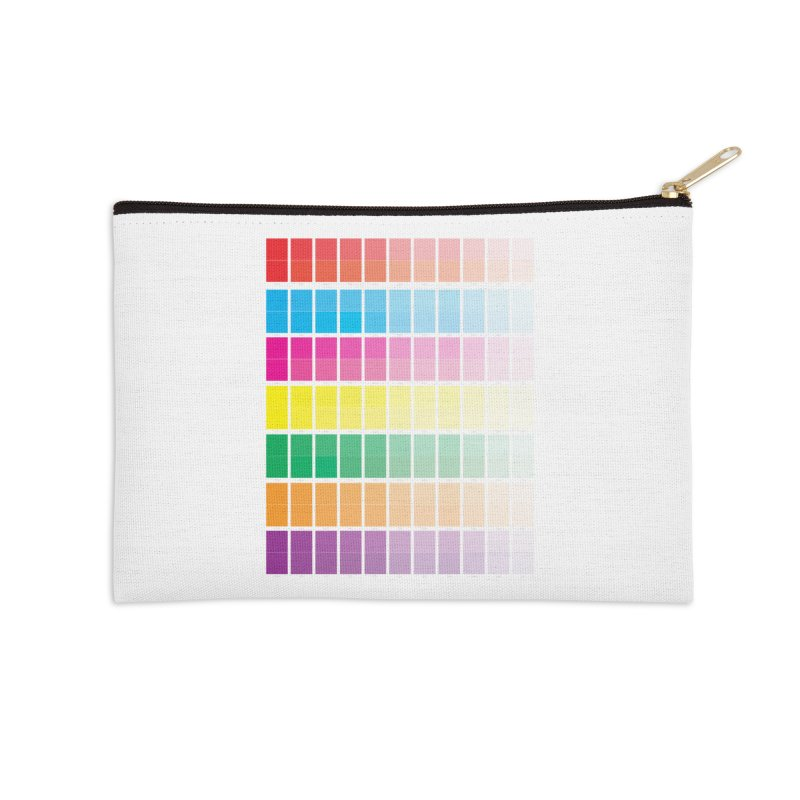 Test Pattern Accessories Zip Pouch by Feed me tacos!