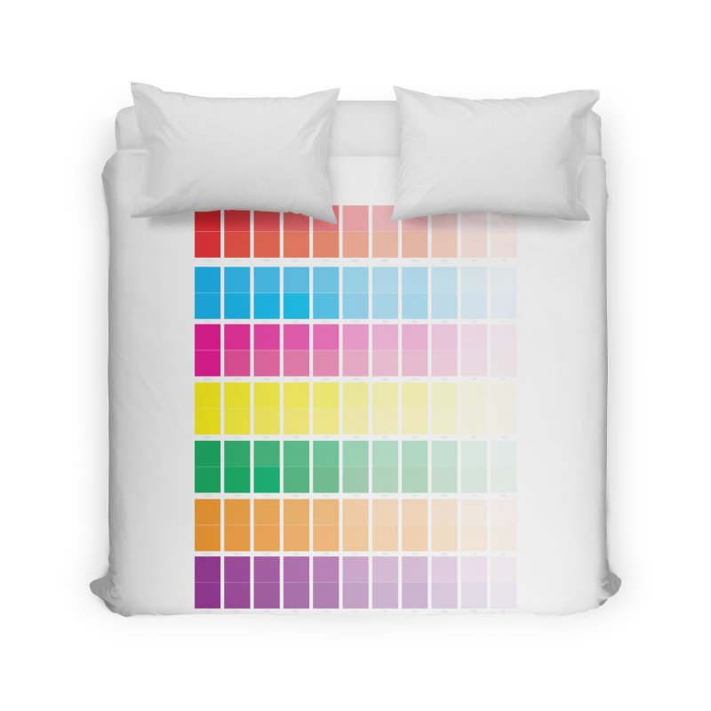 Test Pattern Home Duvet by Feed me tacos!