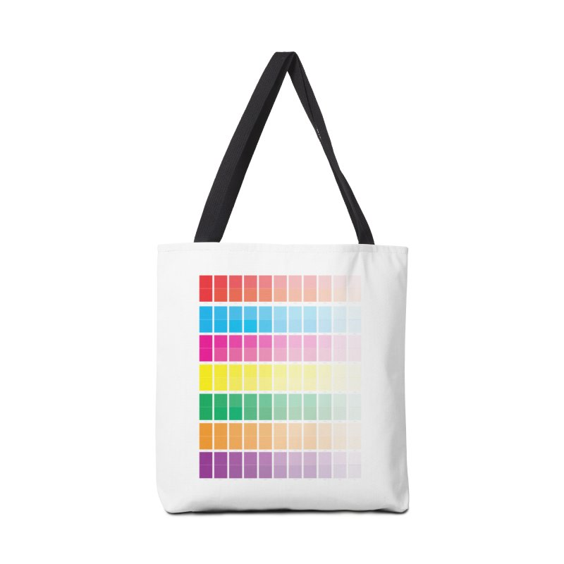 Test Pattern Accessories Tote Bag Bag by Feed me tacos!