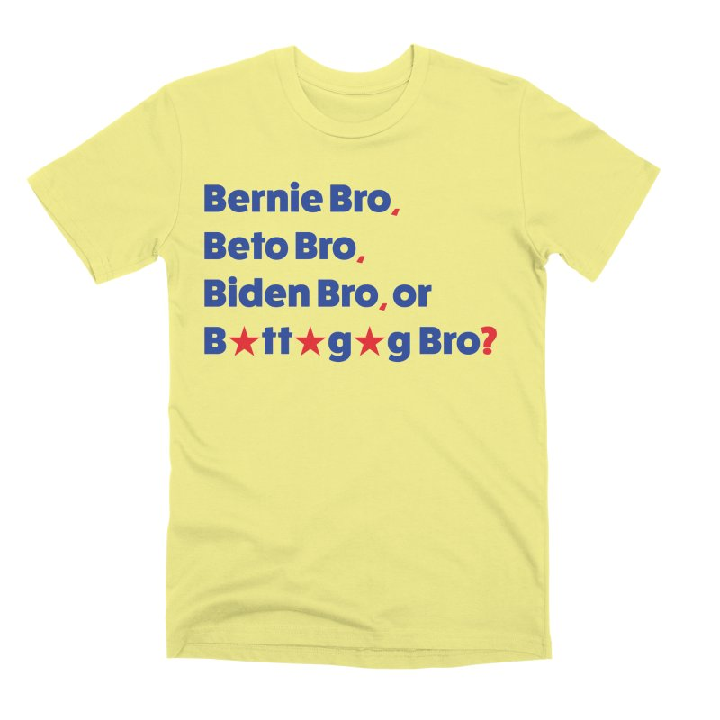 What Kind of B-Bro Are You? Men's Premium T-Shirt by foossa's Artist Shop