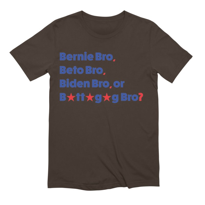 What Kind of B-Bro Are You? Men's Extra Soft T-Shirt by foossa's Artist Shop