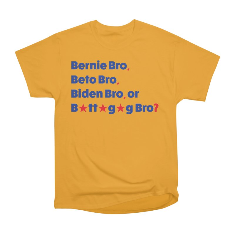 What Kind of B-Bro Are You? Men's Heavyweight T-Shirt by foossa's Artist Shop